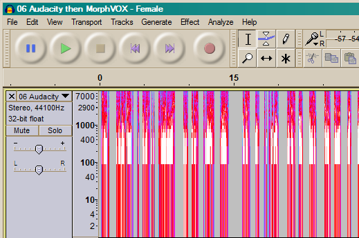 Audio Editing: Changing the Sound of a Voice | Ray Woodcock's Latest