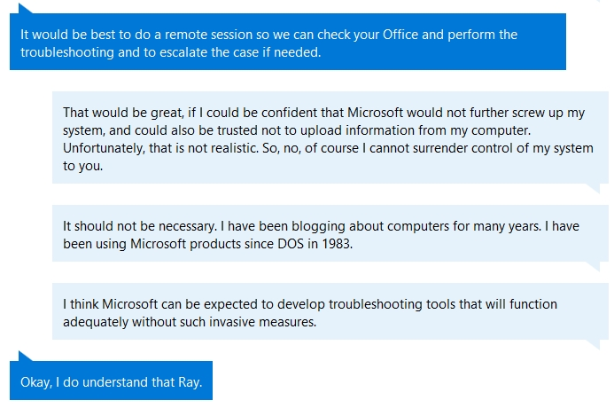 Microsoft Office 2016 Won't Run in Windows 10 After Updates | Ray